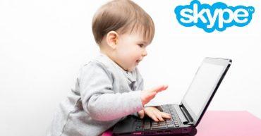 Занятия английским по скайпу для детей