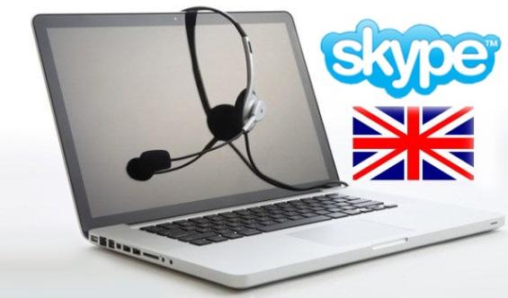 Занятия английским языком по скайпу